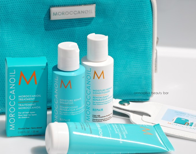 Moroccanoil Travel Kit & luggage tag 4
