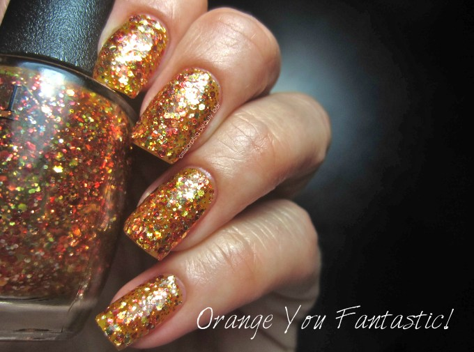 OPI Orange You Fantastic! swatch