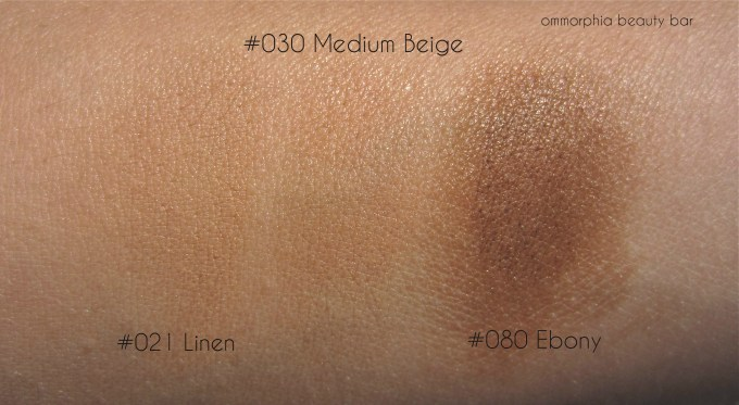 Dior Diorskin Star Foundation swatches 3