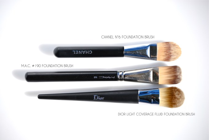 Dior Light Coverage Foundation Brush comparisons