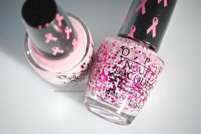 OPI Pink of Hearts 2014 macro