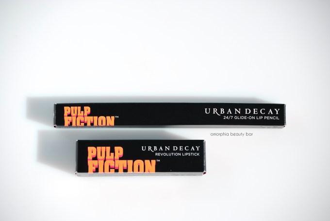 UD Mrs. Mia wallce lip liner & lipstick boxed