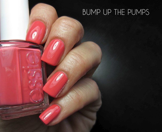 Essie Bump Up The Pumps swatch