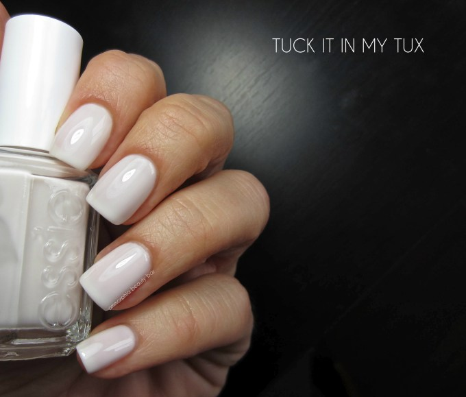 Essie Tuck It In My Tux swatch