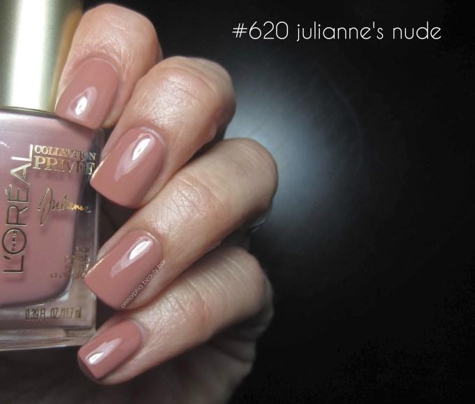 L'Oréal #620 Julianne's Nude swatch