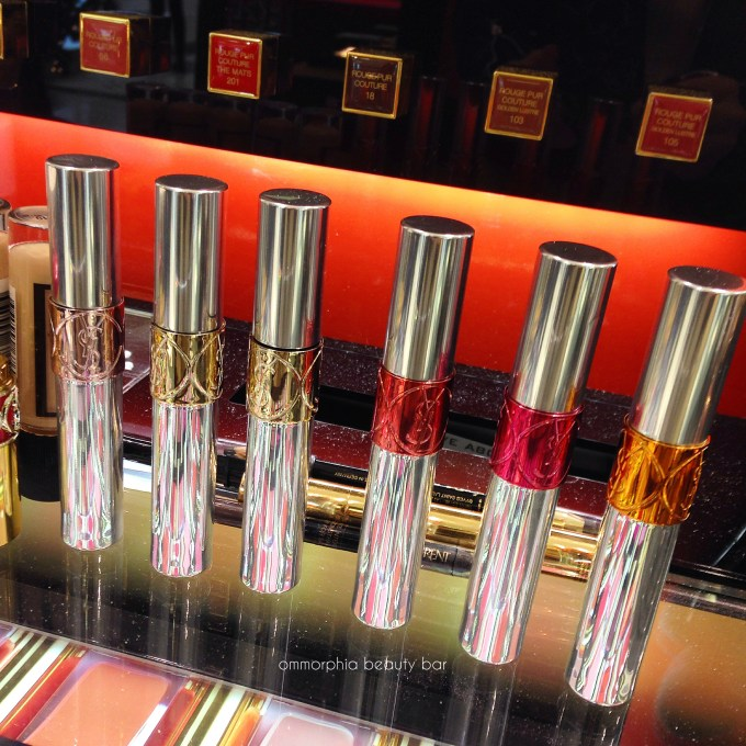 YSL x GoogleGlass Spring 2015 collection glosses
