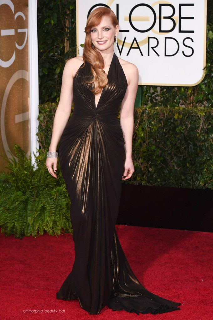 Golden Globes 2015 Jessica Chastain
