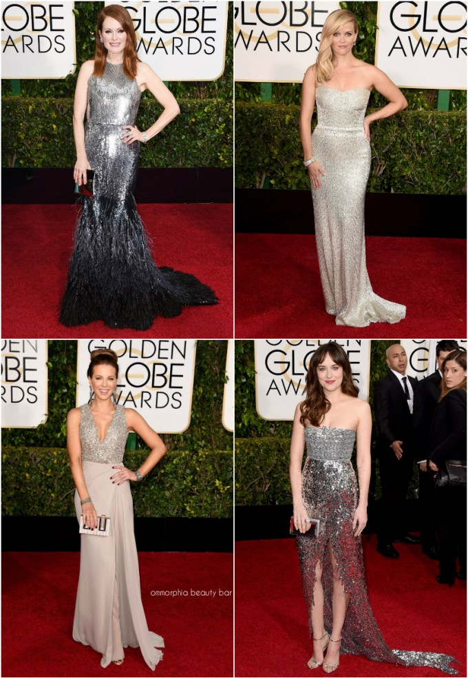 Golden Globes 2015 Silver collage