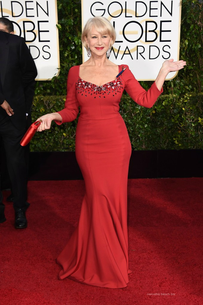 Golden Globes Helen Mirren