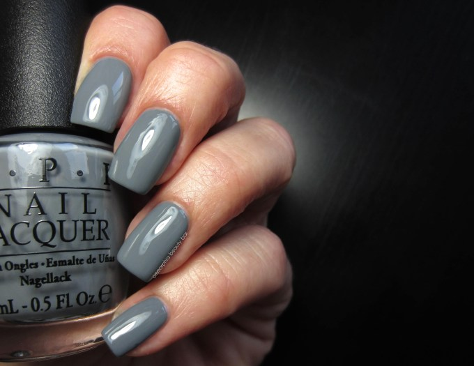 OPI Embrace the Gray swatch