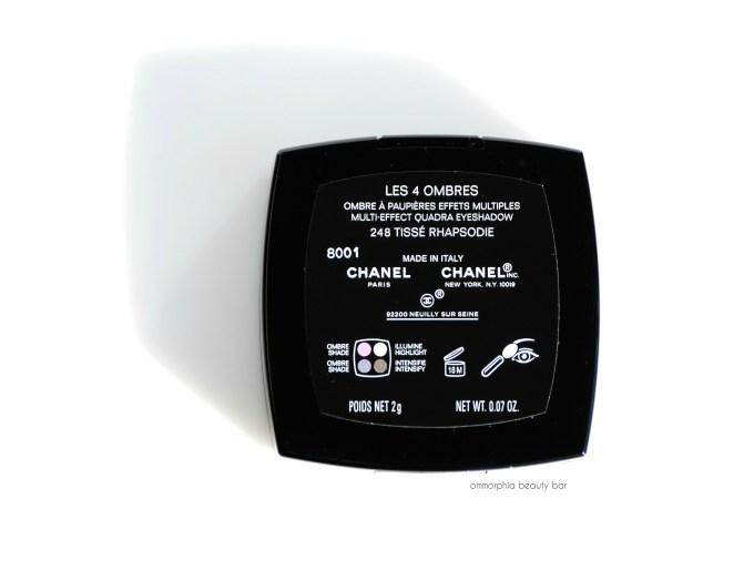 CHANEL Tissé Rhapsodie label