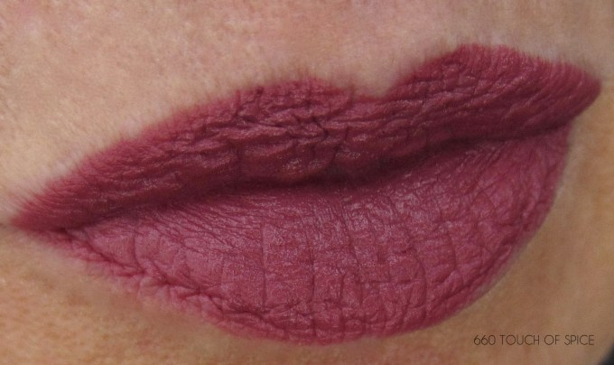 Maybelline Touch of Spice swatch