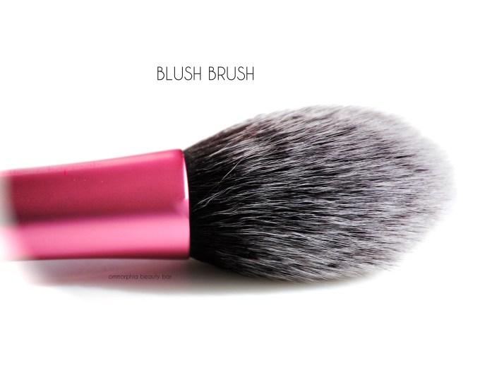 Real Techniques Blush Brush macro 2