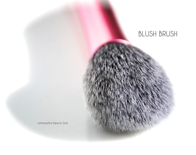 Real Techniques Blush Brush macro