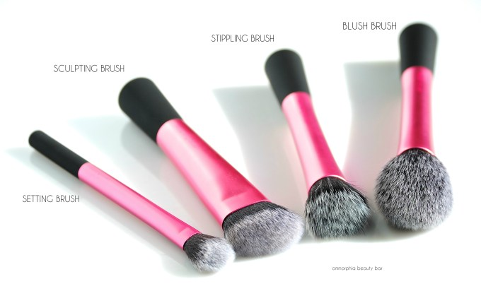 Real Techniques Finishing Face Brushes