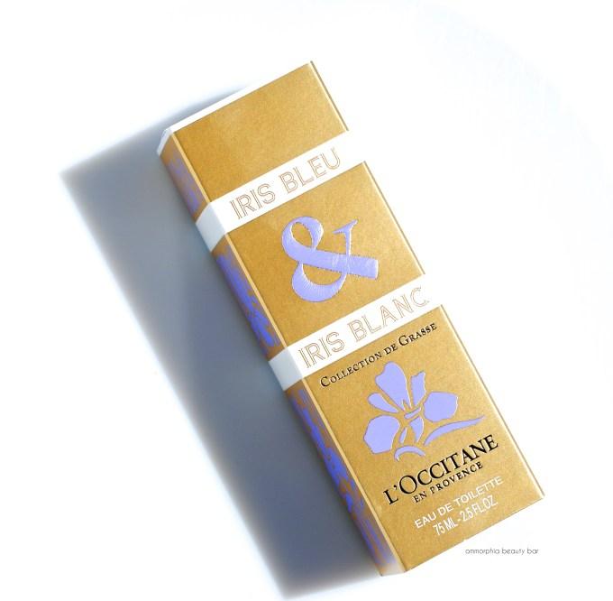 L'Occitane Iris Bleu & Iris Blanc EdT box