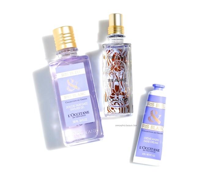 L'Occitane Iris Bleu & Iris Blanc trio