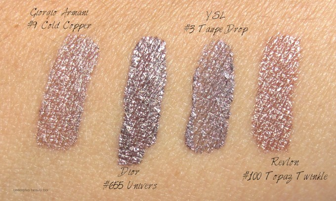 Dior 655 Univers Fluid Shadow with comparisons 1