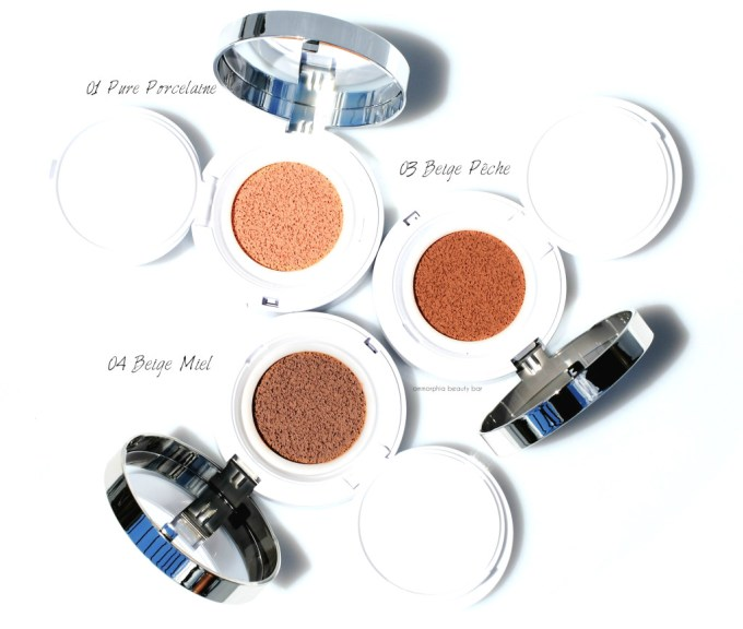 Lancome Miracle Cushion trio 2