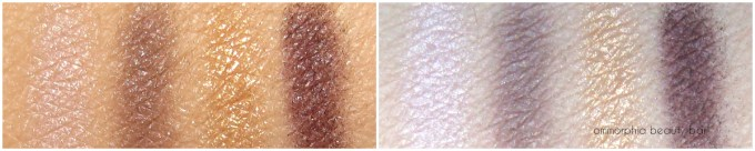 CHANEL Signe Particulier swatches