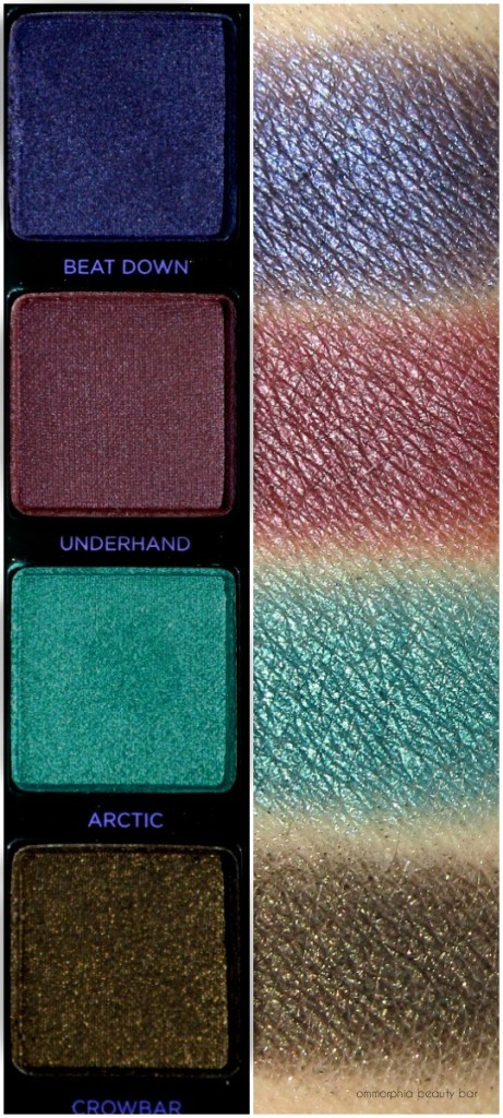 UD Vice 4 swatches row 4