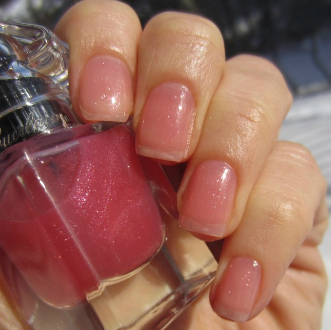 Guerlain My First Nail Polish swatch