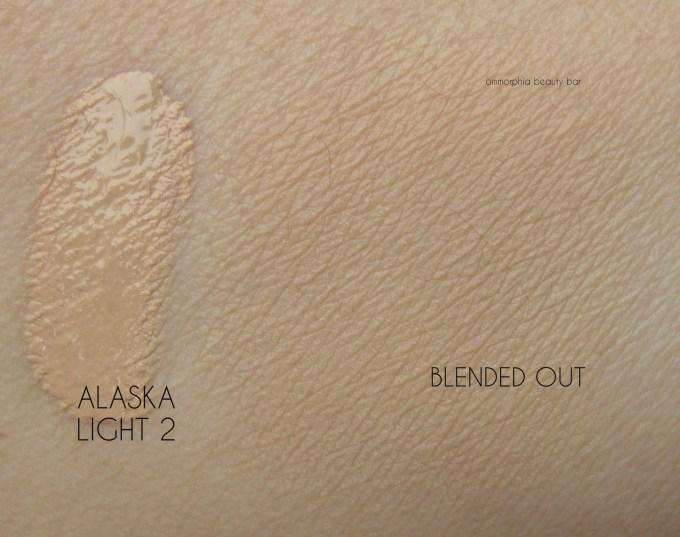 NARS Alaska Velvet Matte Skin Tint swatch