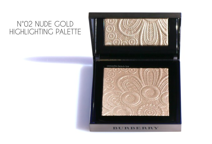Burberry Nude Gold Highlighting Palette