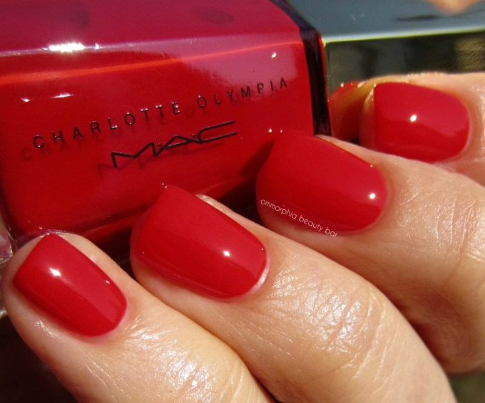 MAC x Charlotte Olympia To Have Or Have Not swatch