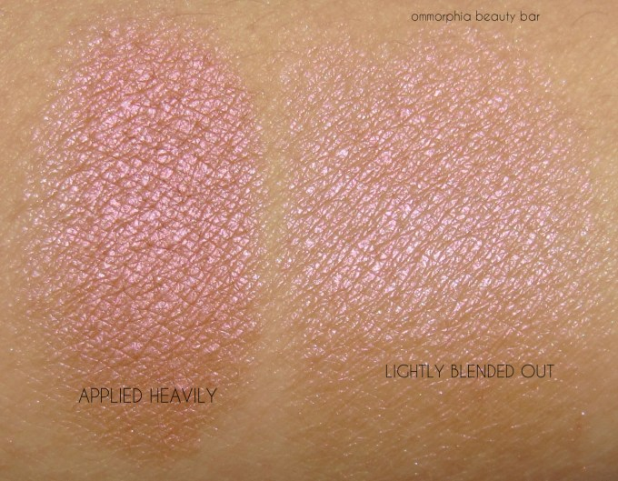 UD Fireball Afterglow Highlighter swatches