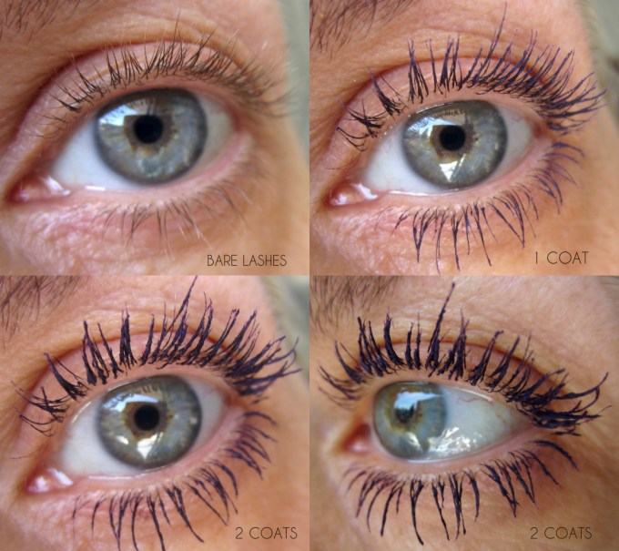 CHANEL Ardent Purple Le Volume Mascara swatch collage