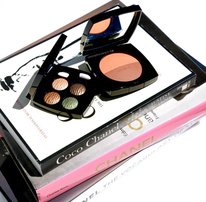 CHANEL Summer 2016 quad & bronzer closer