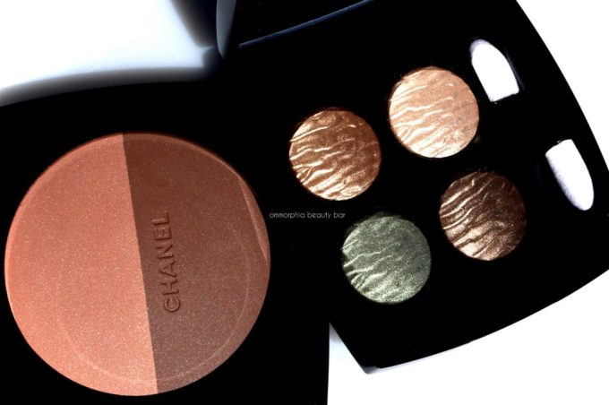 CHANEL Summer 2016 quad & bronzer macro