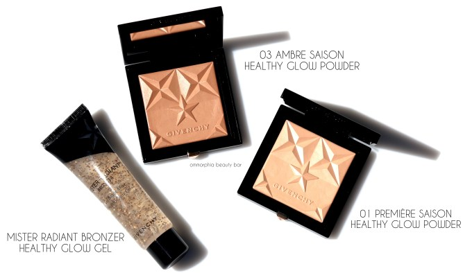 Givenchy Healthy Glow Powders & Mister Radiant Bronzer