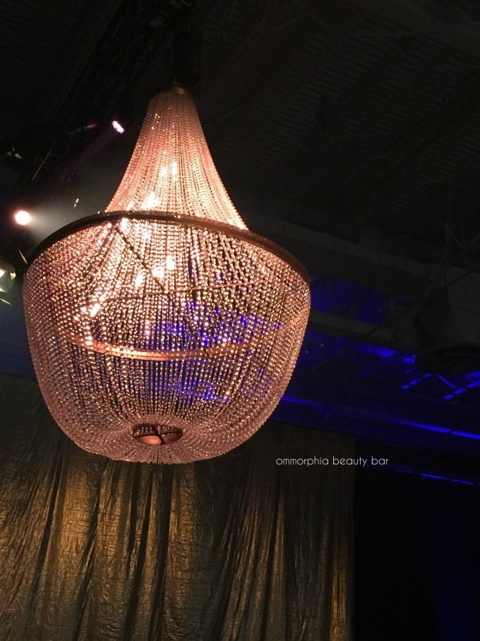 Grand Ballets Gala chandelier
