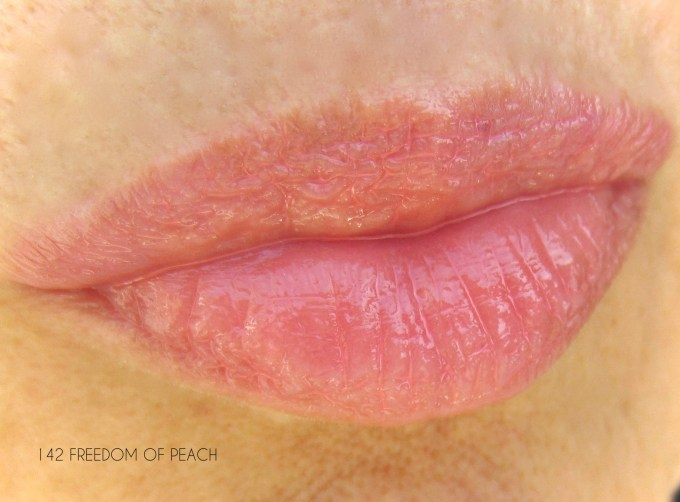 Lancome Freedom of Peach Juicy Shaker swatch
