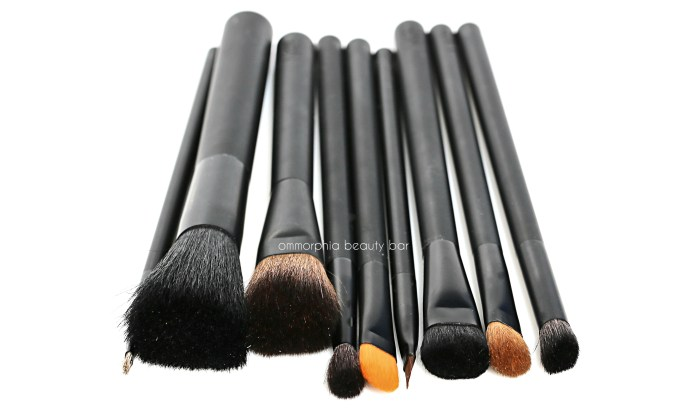 NARS makeup brushes macro