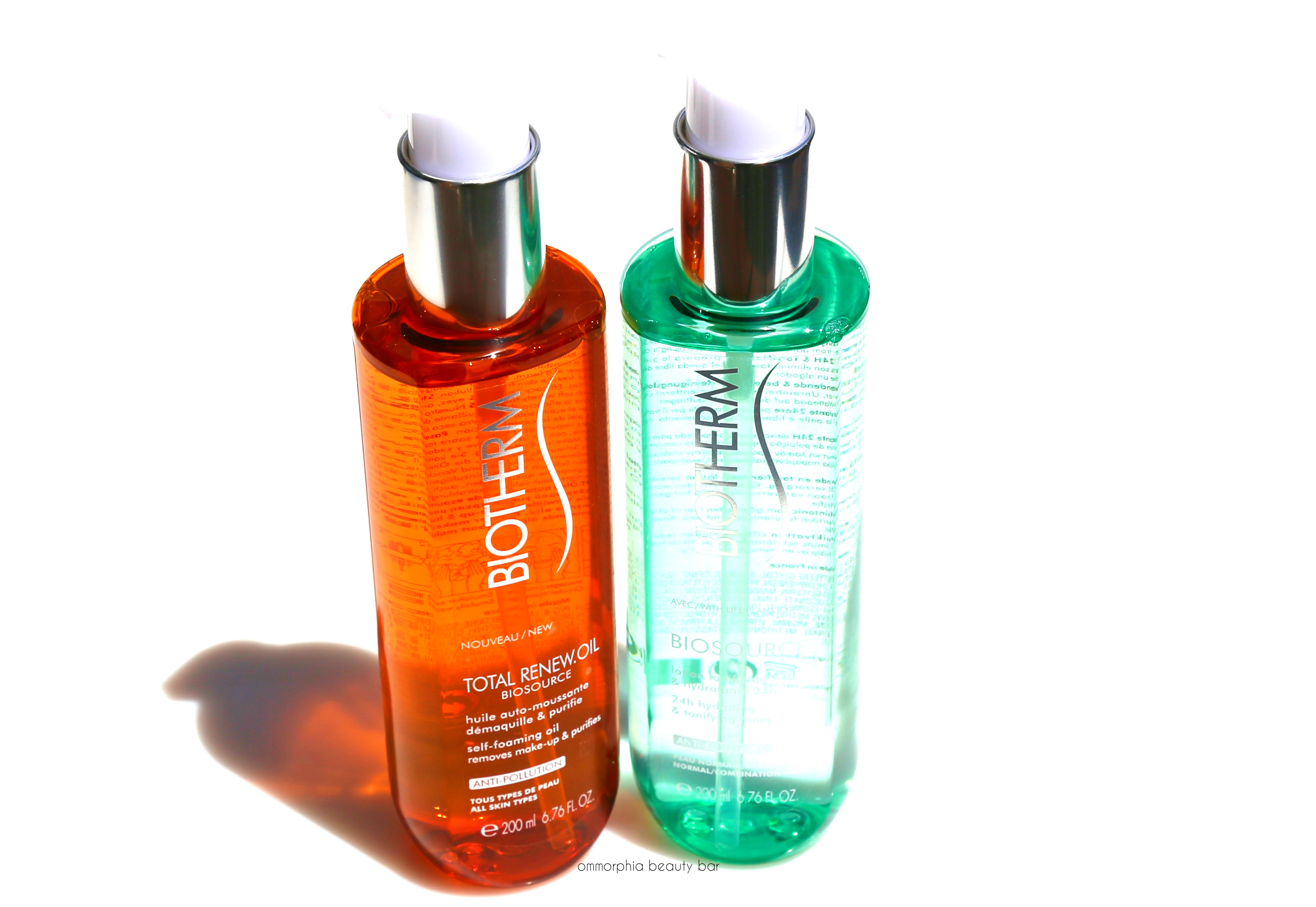 biotherm cleansing oil
