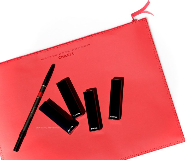 CHANEL Le Rouge lippies closer