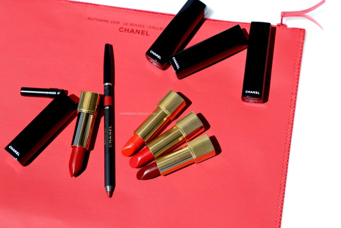 CHANEL Le Rouge lippies