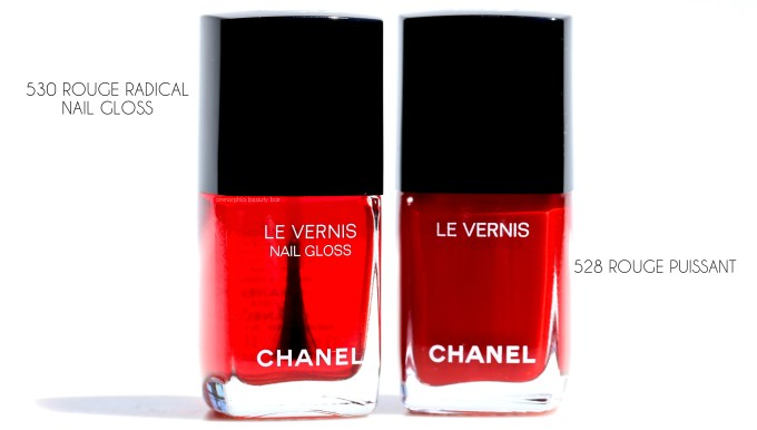 CHANEL Le Rouge nail polish duo