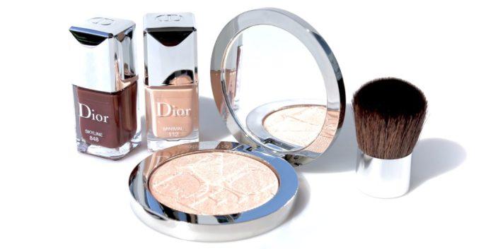 Dior Skyline polishes & Luminizer opener