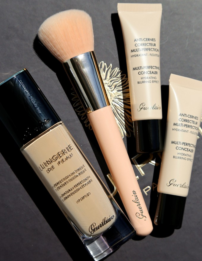 Guerlain foundation & concealers closer
