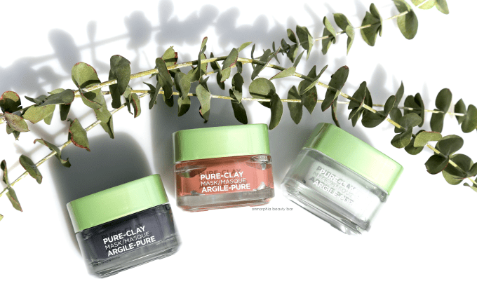L'Oreal Pure-Clay Masks opener