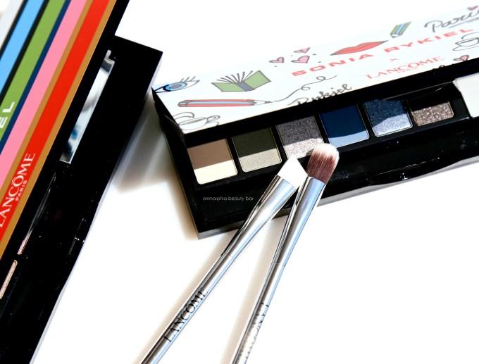 Lancome Sonia Rykiel palettes brushes