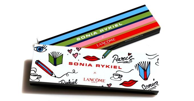 Lancome Sonia Rykiel palettes opener