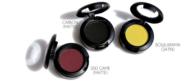 MAC It's A Strike eye shadows 2
