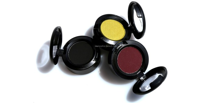MAC It's A Strike eye shadows