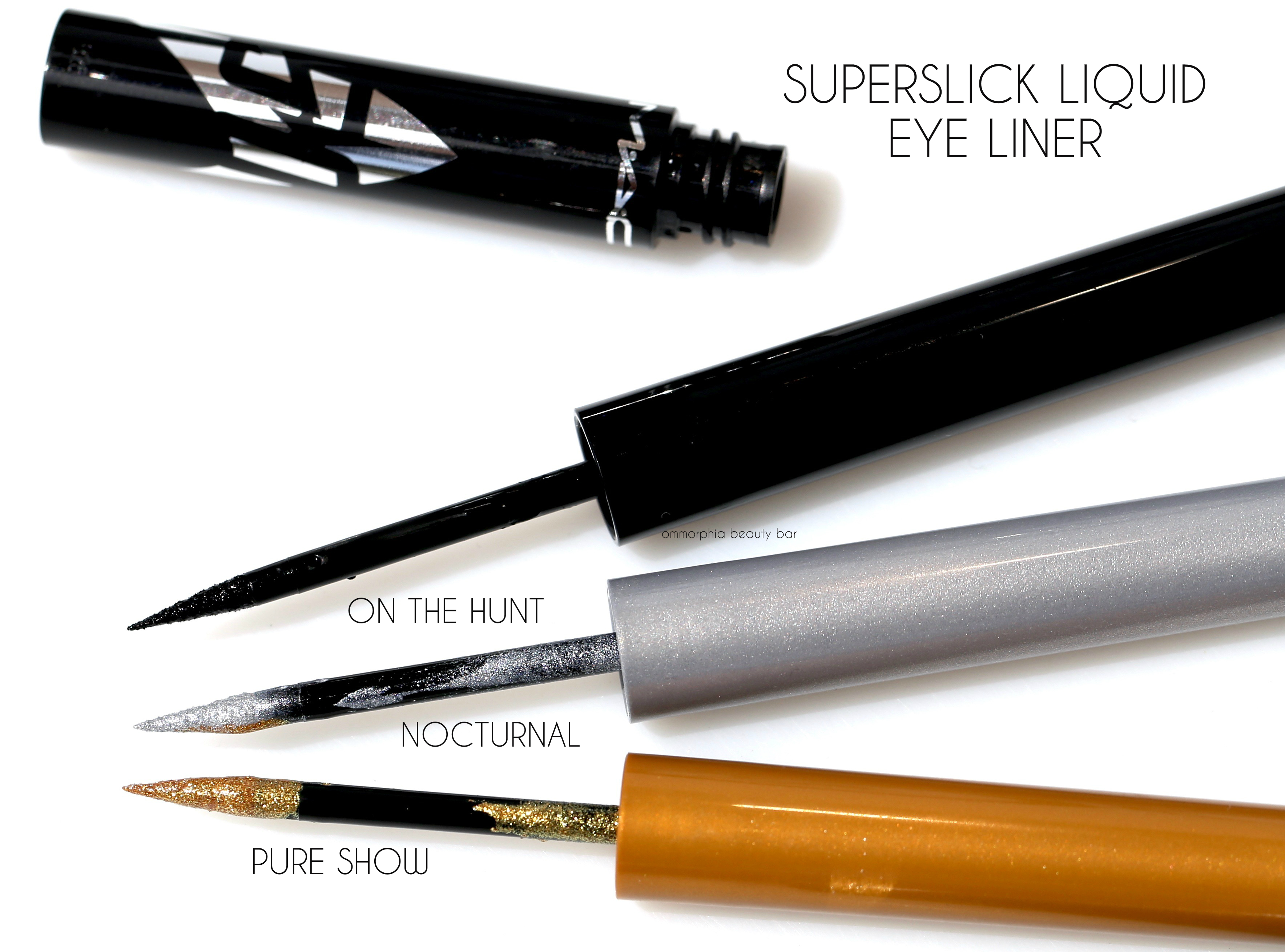 Eyeliner Enthusiastic Double-head Black Liquid Eyeliner Pencil Easy To Wear Makeup Star Heart Moon Flower Stamp Waterproof Mark Seal Tattoo Eye Liner Available In Various Designs And Specifications For Your Selection