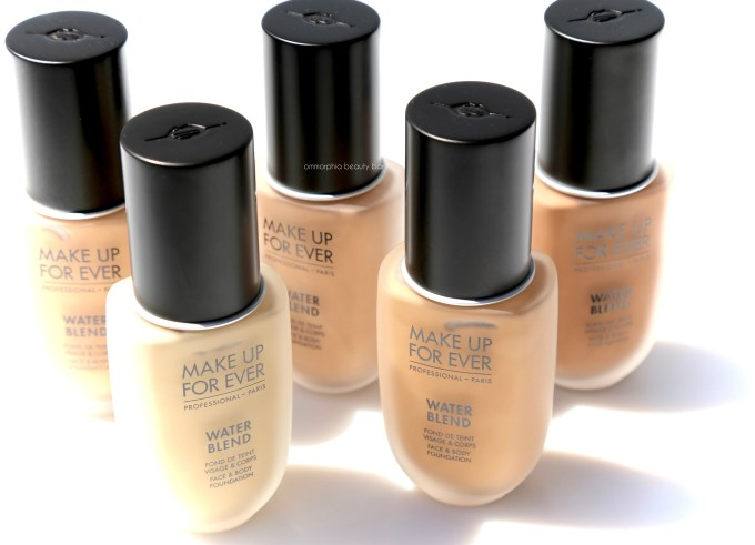 MUFE Water Blend Foundation closer